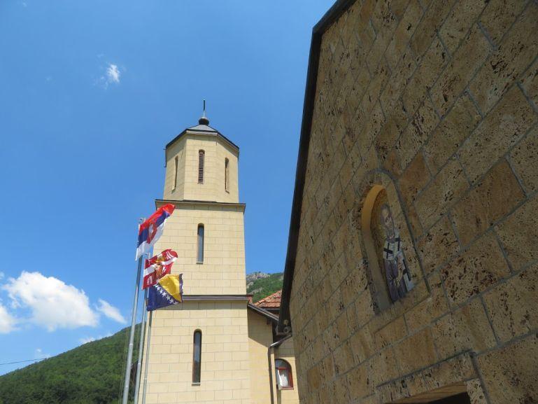 Rmanj monastery in Martin Brod
