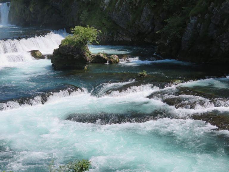 Una river in Una National Park