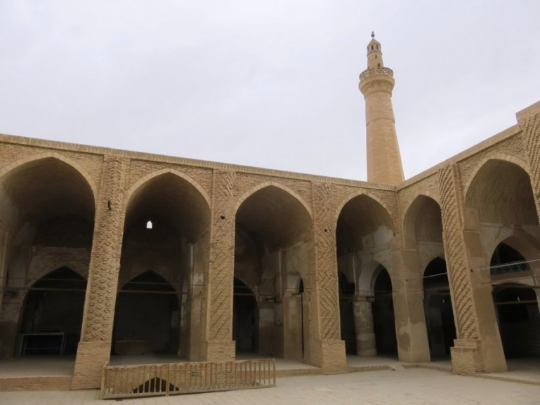 Oldest mosque in Iran