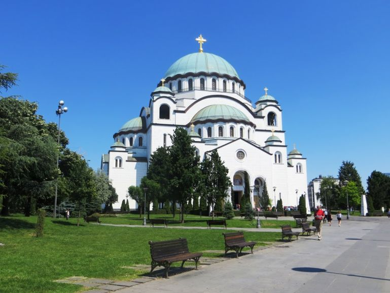 Sava Cathedral is among the best things to do in Belgrade Serbia