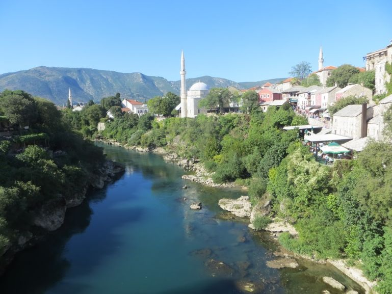 Mostar in Bosnia