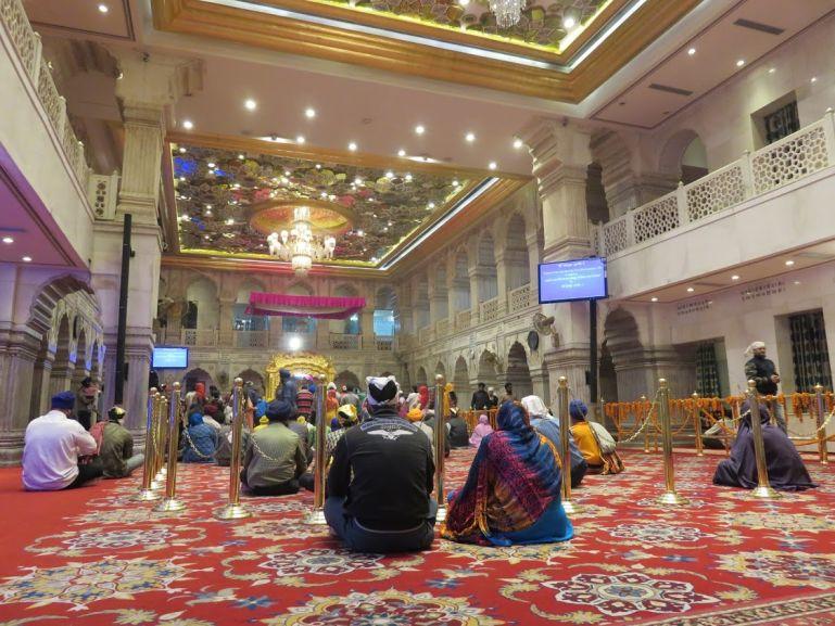 Sikh temple in Delhi