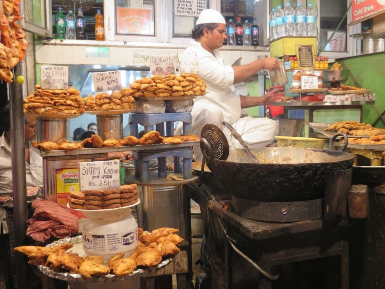 Street food in Old Delhi. One of the highlights of your Delhi itinerary