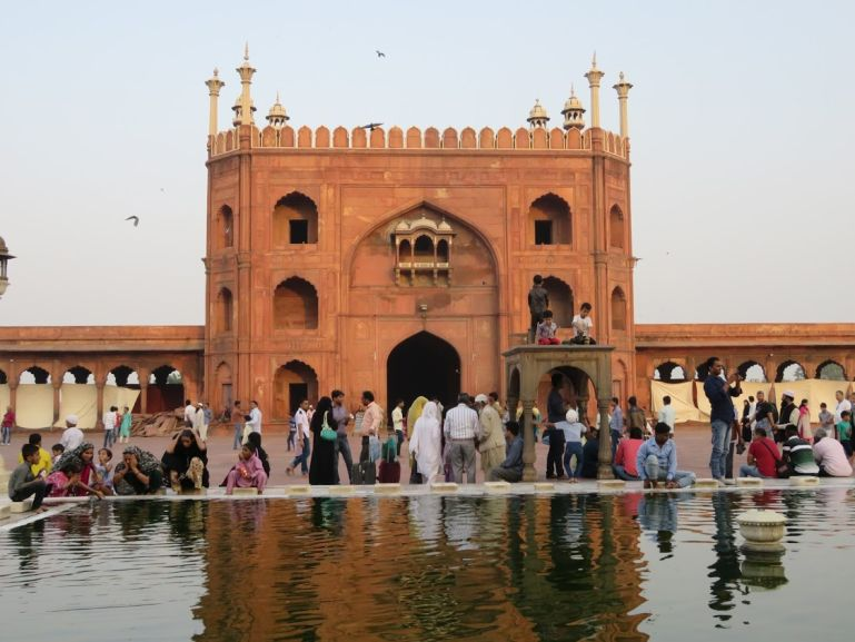 Jame Masjid in Old Delhi. One of the highlights of your Delhi itinerary
