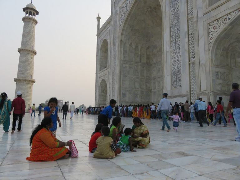 The Taj Mahal is among the top places to visit in Agra in one day