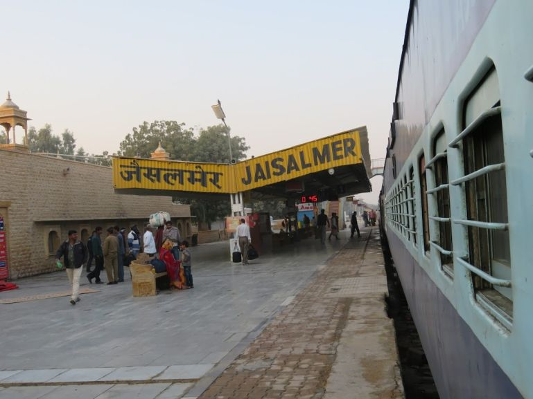 Backpacking Rajasthan by train is the best way to explore the region