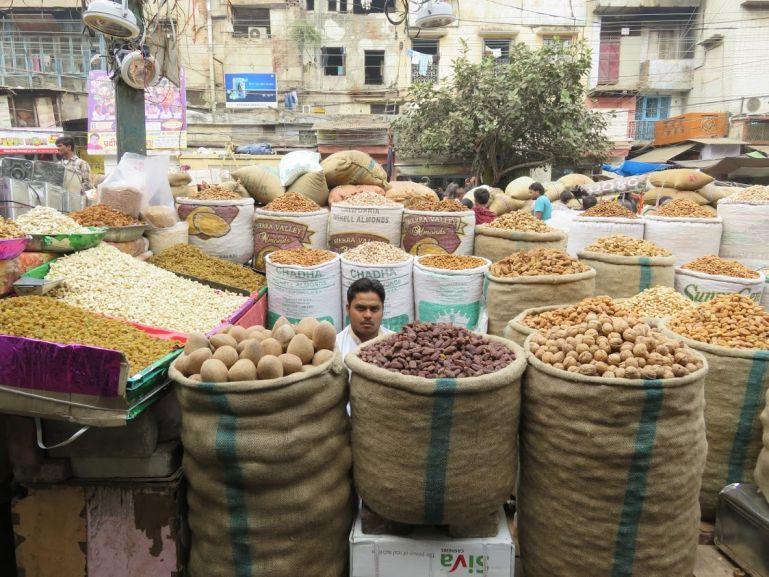 Khari Bhaoli spice market