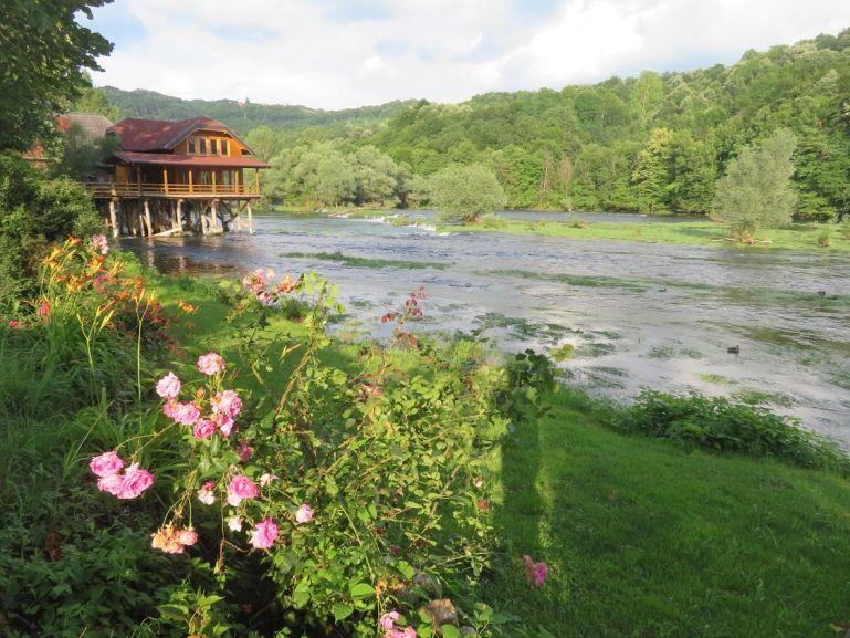 Una river in Bosanski Krupa