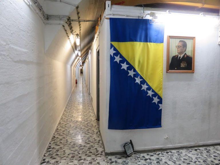 Tito's bunker in Konjic, Bosnia
