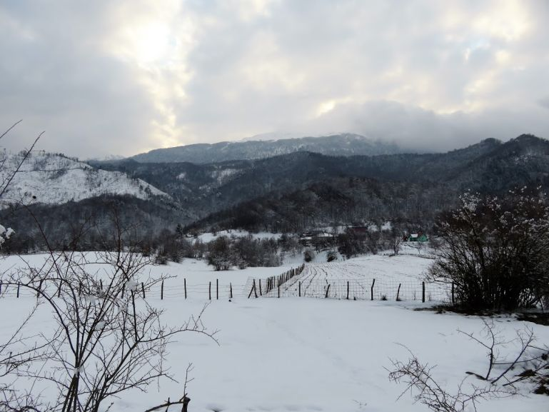 Backpacking Bosnia in winter