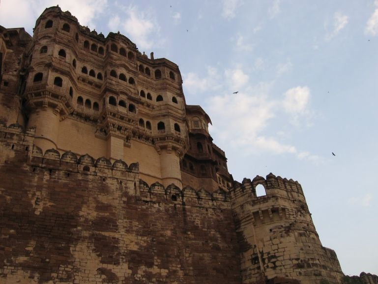 Jodhpur palace is one of the highlights of backpacking Rajasthan
