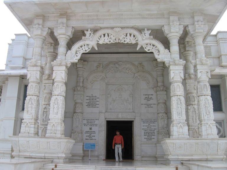 Birla mandir temple in Jaipur