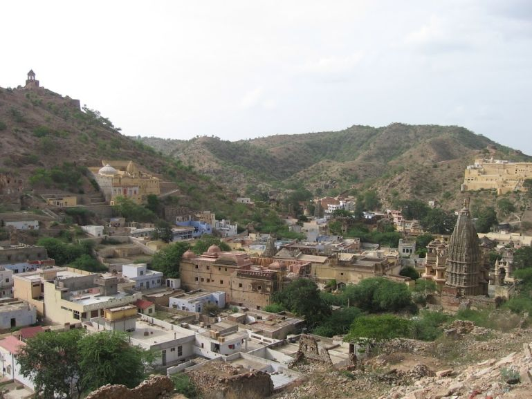 Views from Jaigarh fort