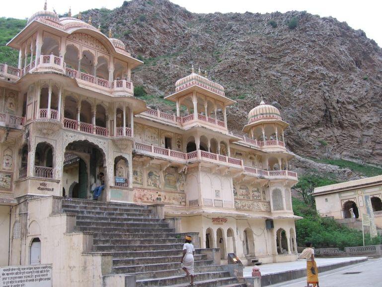 Galta ji monkey temple in Jaipur India