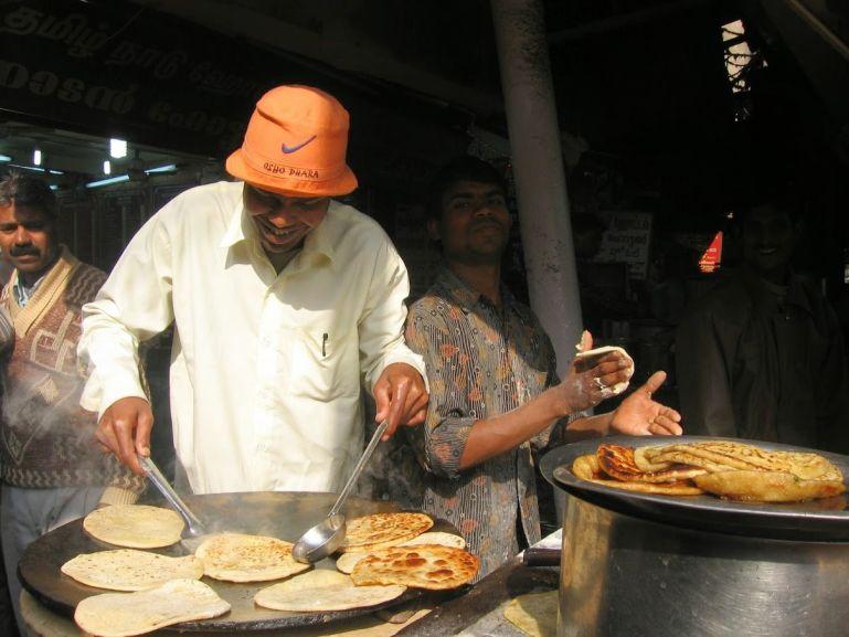Street food in Chandni Chowk