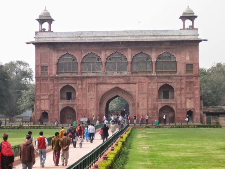 Delhi Red Fort.
