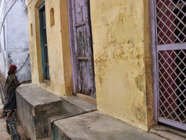 Streets in Vrindavan