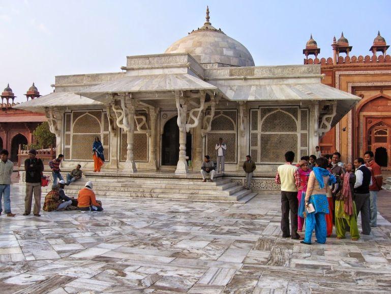 Tomb of Saint Salim Chisti in Fatehpur Sikri