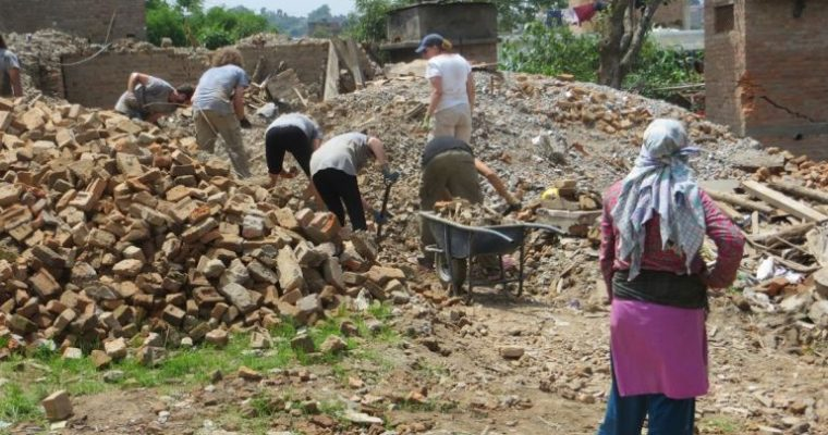 All Hands volunteers: my experience in Nepal