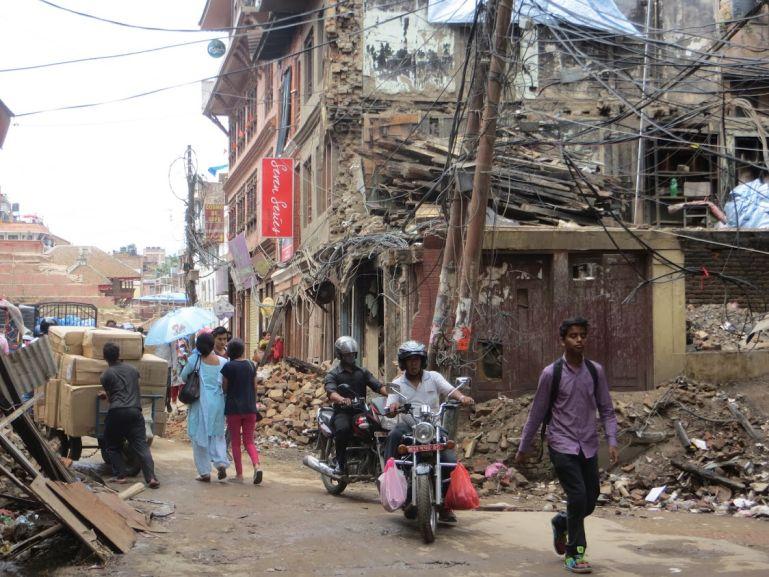 Kathmandu after the earthquake