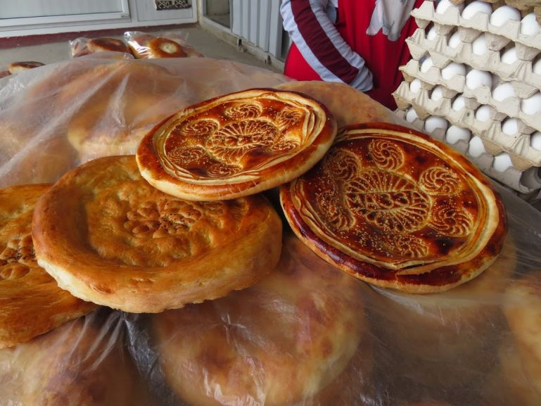 Tajik non and other breads are the most important foods in Tajikistan