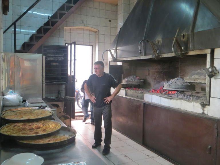 Burek bakery in Mostar Bosnia