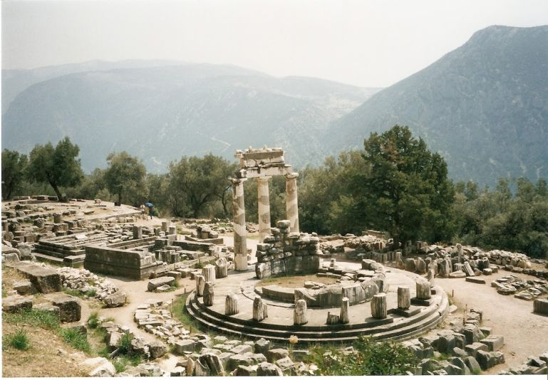Delphi is one of the best places to visit in mainland Greece