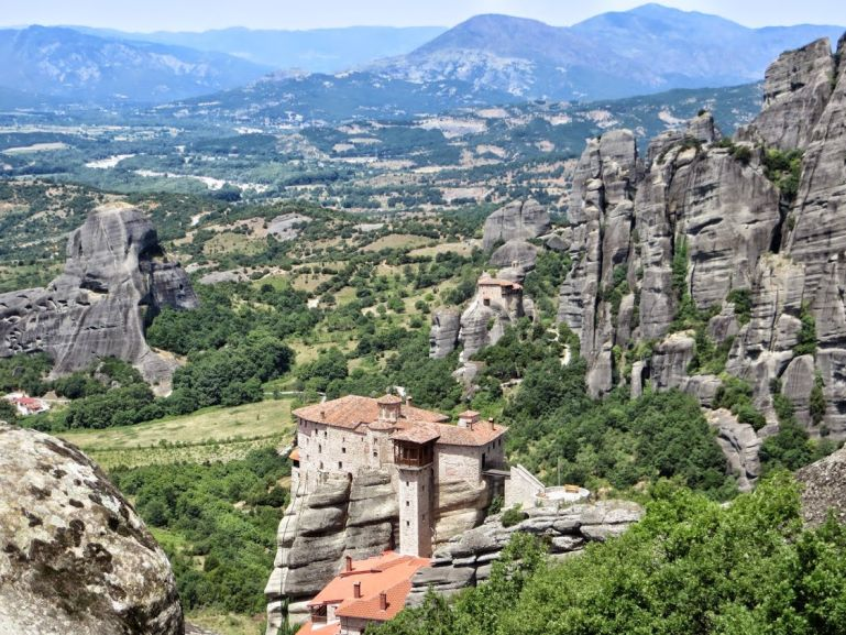 Meteora is one of the best places to visit in mainland Greece