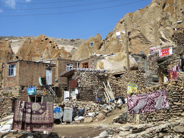 Cave homes in Kandovan Iran