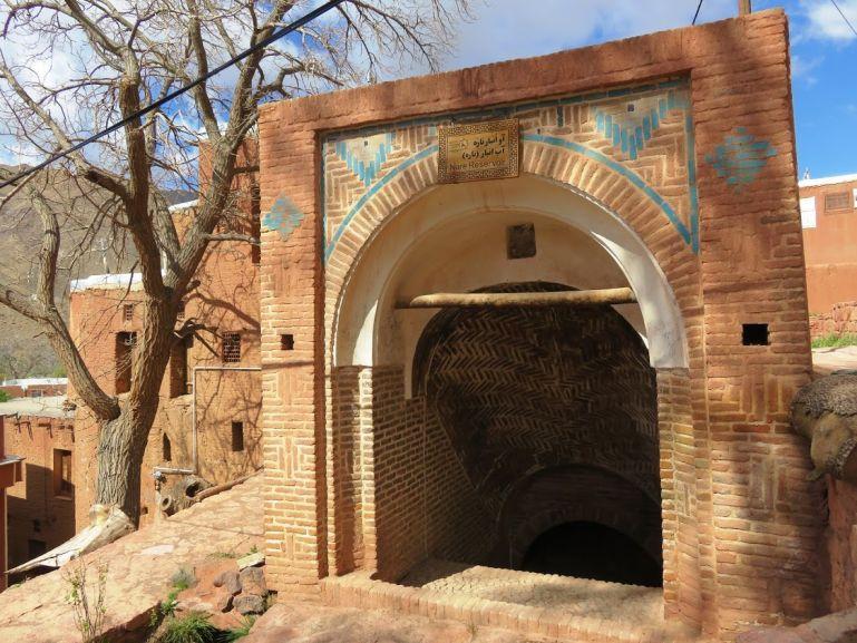 Ab anbar waterreservoir in Abyaneh Iran
