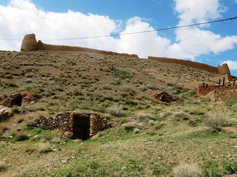 Palahamooneh fortress in Iran