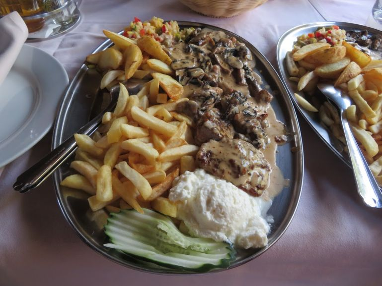 Bosnian food includes lots of grilled meats
