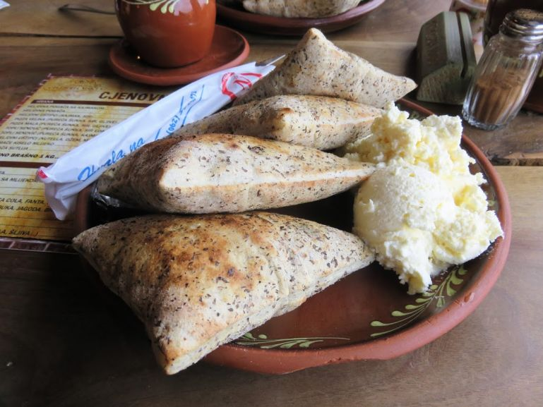 Ustipci are a popular bosnian food for breakfast