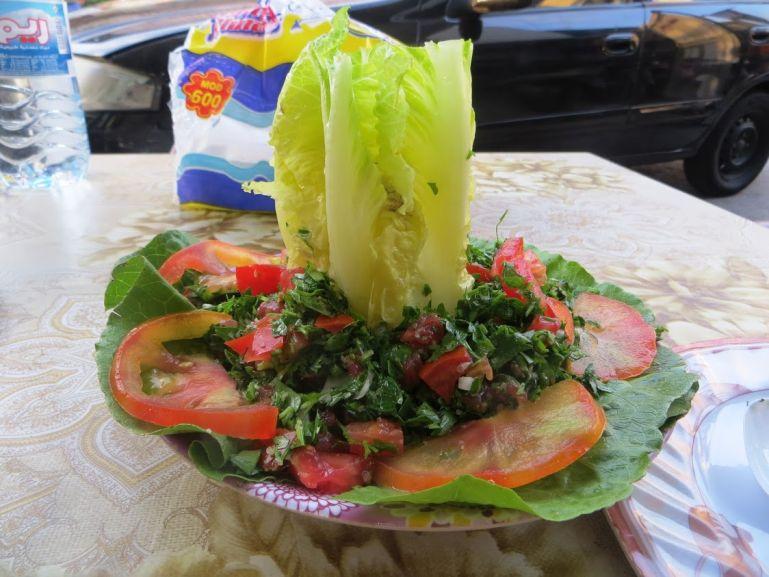 Tabbouleh salad in Lebanon