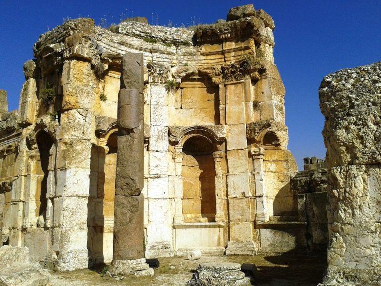Temple of Venus in Baalbek Lebanon
