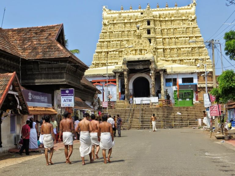 Shri Padmanabhaswamy Temple in Trivandrum