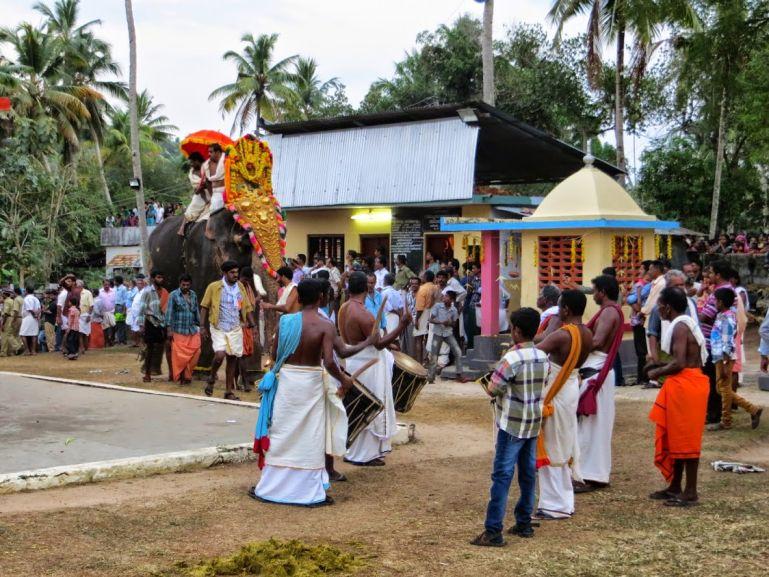 Edava temple festival
