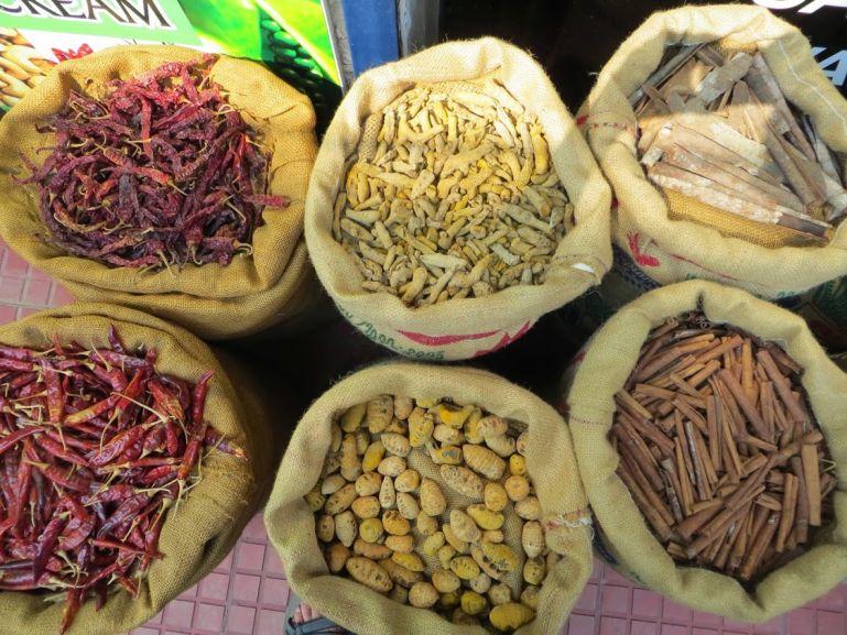 Spice market in Fort Kochi Kerala