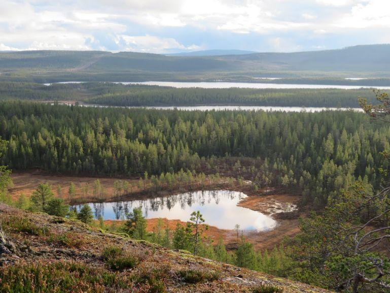 Swedish Lapland in Jokkmokk