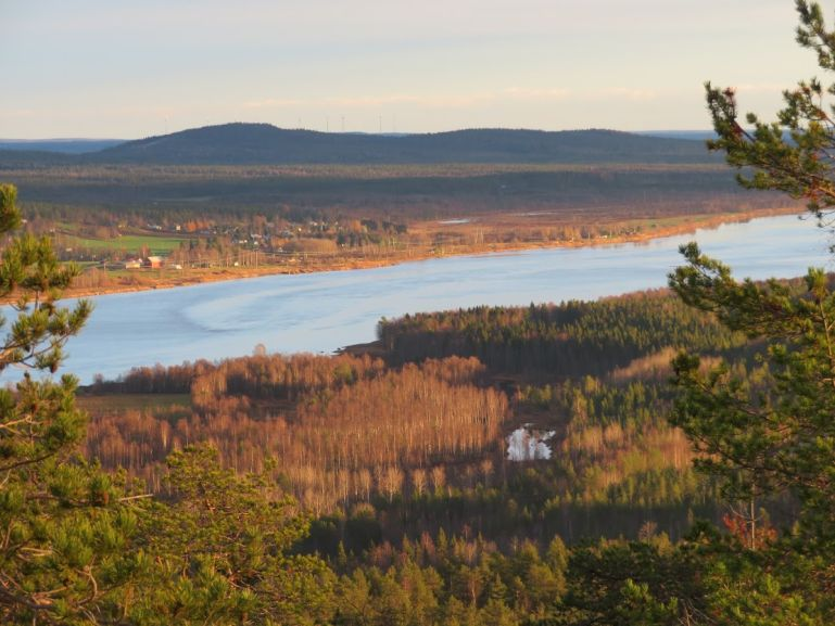 Views over the Torne river valley