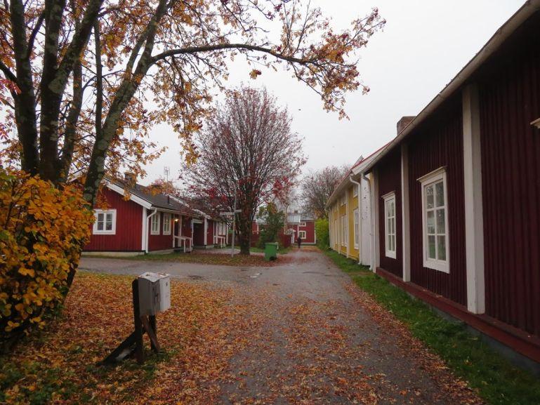 Gammelstad church town in Swedish Lapland