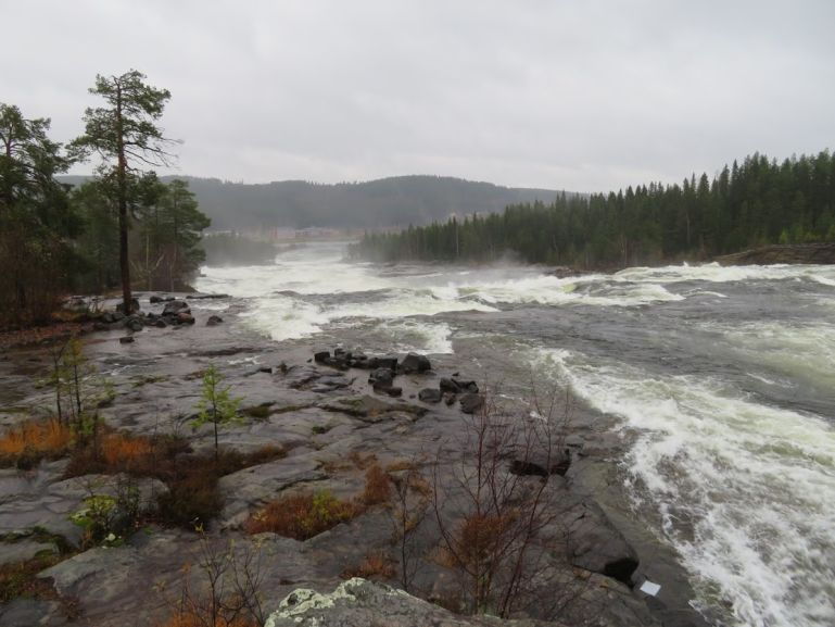 Storforsen is worth a stop on your Lapland itinerary