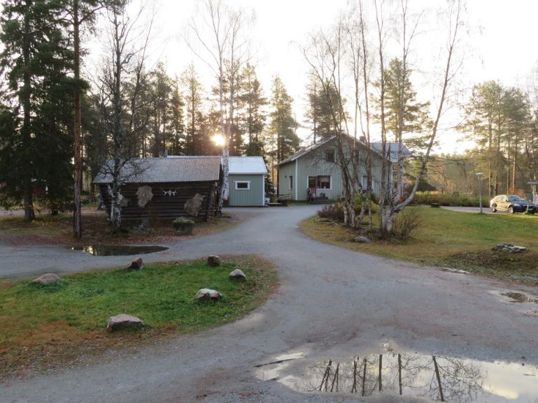 Skabram camping in Jokkmokk Sweden