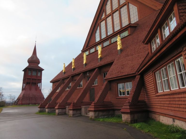 Church in Kiruna, the northernmost town in your Swedish Lapland itinerary