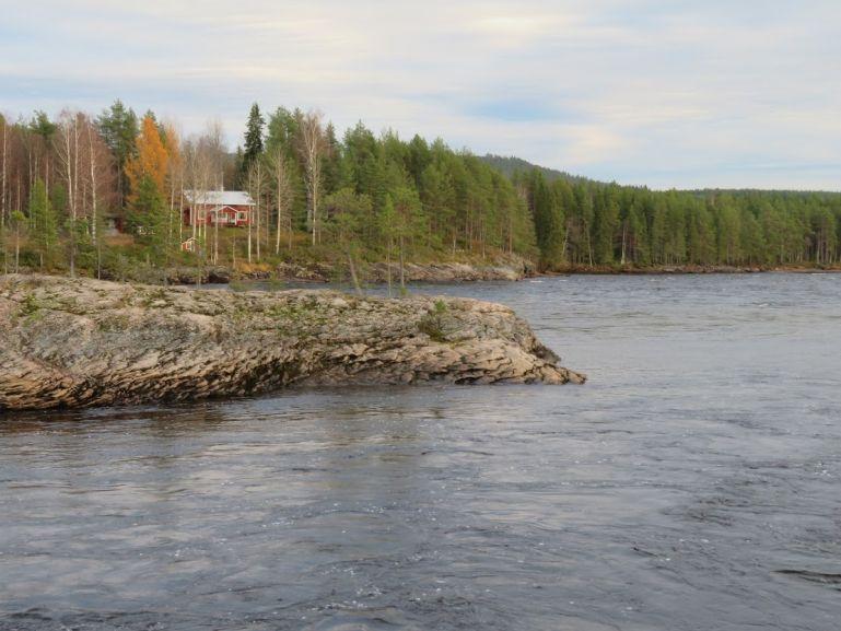 Kattilakoski rapids in the Torne valley