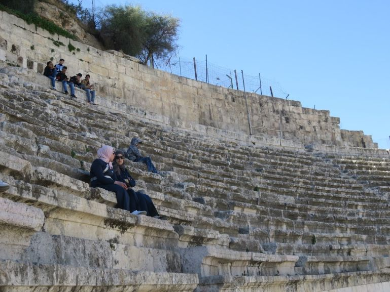The Roman theatre in Amman