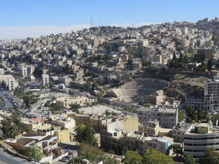 The Roman theatre is a must see on a one day Amman itinerary