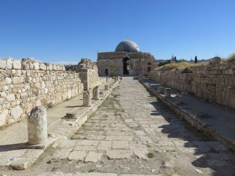 The Ummayad palace at the Citadel hill