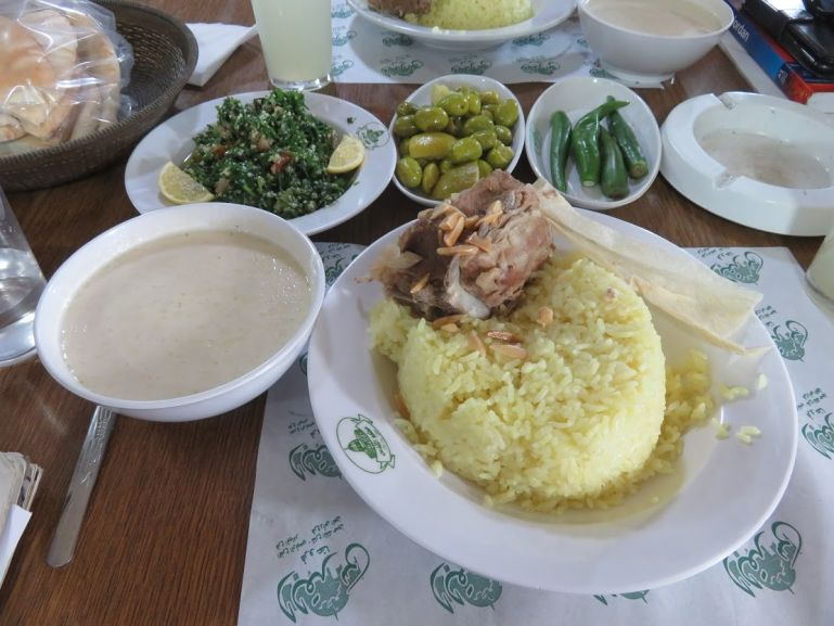 Mansaf at Al Quds restaurant