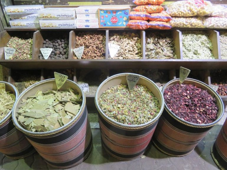 Spices in Al Balad downtown market